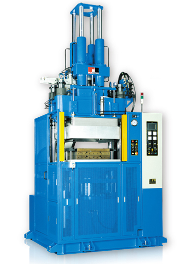 Vertical Vauum Bubber Injection Molding Machine