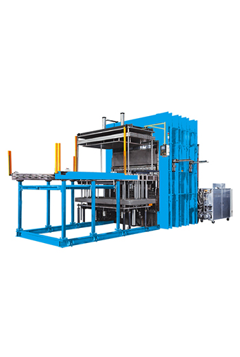 Jumbo Vacuum Vulcanizing Machine(Two sides operation)