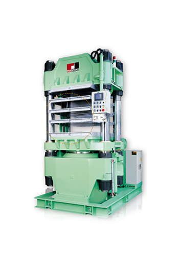 Multi-Layer Compression Molding Machine